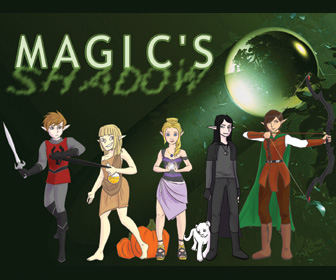 I supported the Magic's Shadow Kickstarter!